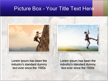 Rock climber PowerPoint Template - Slide 18