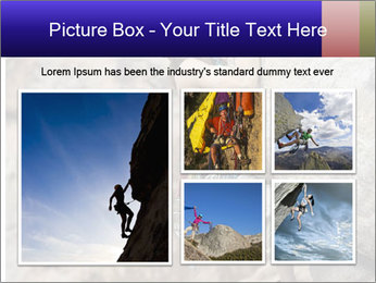 Rock climber PowerPoint Template - Slide 19