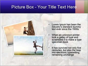 Rock climber PowerPoint Template - Slide 20