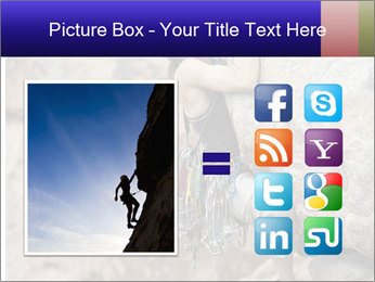 Rock climber PowerPoint Template - Slide 21