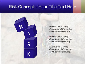 Rock climber PowerPoint Template - Slide 81