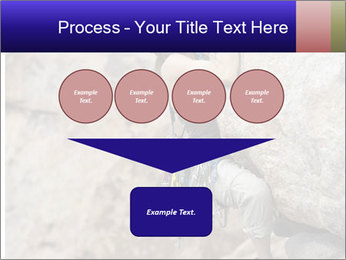Rock climber PowerPoint Template - Slide 93