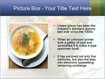 Fresh vegetable soup PowerPoint Template - Slide 13