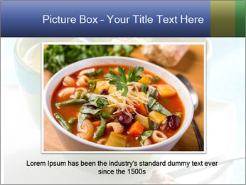 Fresh vegetable soup PowerPoint Template - Slide 15