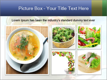 Fresh vegetable soup PowerPoint Template - Slide 19