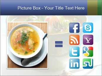 Fresh vegetable soup PowerPoint Template - Slide 21