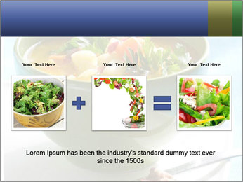 Fresh vegetable soup PowerPoint Template - Slide 22