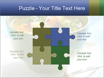 Fresh vegetable soup PowerPoint Template - Slide 43