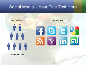 Fresh vegetable soup PowerPoint Template - Slide 5