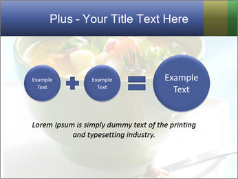 Fresh vegetable soup PowerPoint Template - Slide 75