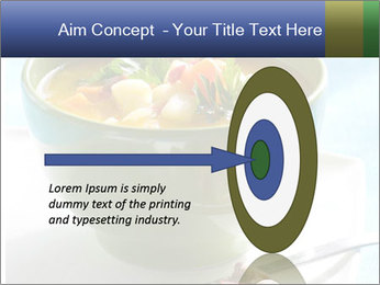 Fresh vegetable soup PowerPoint Template - Slide 83