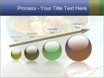 Fresh vegetable soup PowerPoint Template - Slide 87