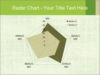 Green linen texture PowerPoint Templates - Slide 51