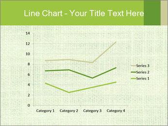 Green linen texture PowerPoint Templates - Slide 54
