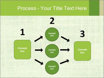 Green linen texture PowerPoint Templates - Slide 92