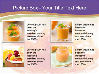 Sweet quince jam in glass dish with spoon PowerPoint Template - Slide 14