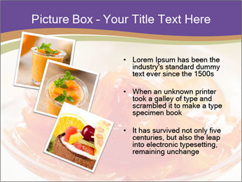 Sweet quince jam in glass dish with spoon PowerPoint Template - Slide 17