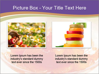 Sweet quince jam in glass dish with spoon PowerPoint Template - Slide 18
