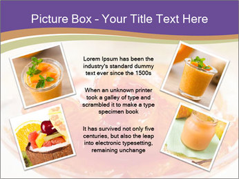 Sweet quince jam in glass dish with spoon PowerPoint Template - Slide 24
