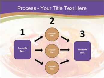 Sweet quince jam in glass dish with spoon PowerPoint Template - Slide 92