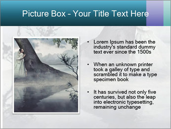 A woman in beauty scenery PowerPoint Templates - Slide 13