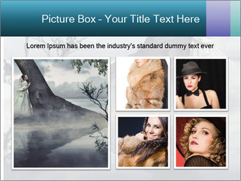 A woman in beauty scenery PowerPoint Templates - Slide 19