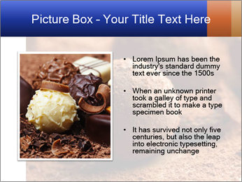 Chocolate truffle PowerPoint Template - Slide 13