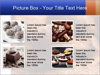 Chocolate truffle PowerPoint Template - Slide 14