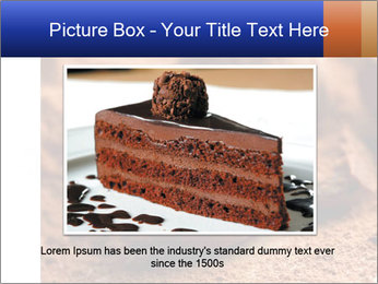 Chocolate truffle PowerPoint Template - Slide 16