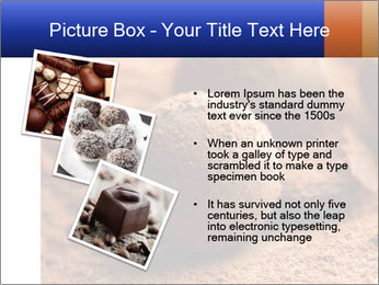 Chocolate truffle PowerPoint Template - Slide 17