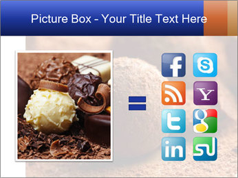 Chocolate truffle PowerPoint Template - Slide 21