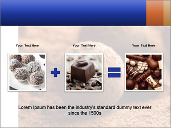 Chocolate truffle PowerPoint Template - Slide 22