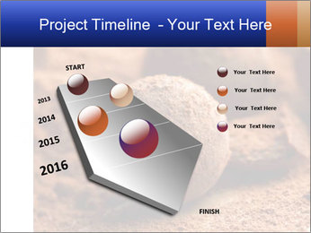 Chocolate truffle PowerPoint Template - Slide 26