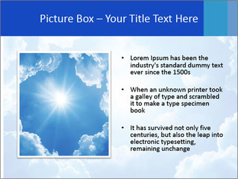 The divine sky PowerPoint Template - Slide 13
