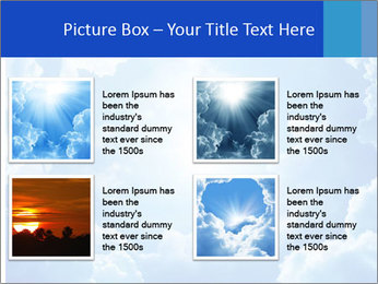 The divine sky PowerPoint Template - Slide 14