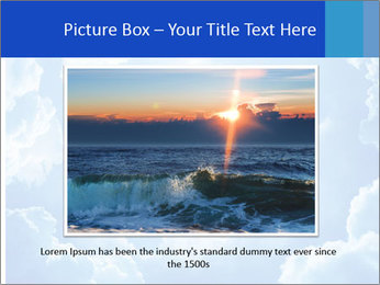 The divine sky PowerPoint Template - Slide 15