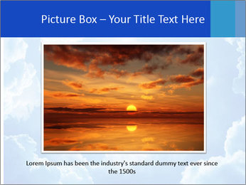 The divine sky PowerPoint Template - Slide 16