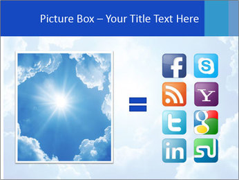 The divine sky PowerPoint Template - Slide 21