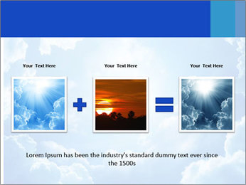 The divine sky PowerPoint Template - Slide 22