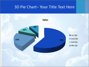 The divine sky PowerPoint Template - Slide 35