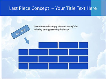 The divine sky PowerPoint Template - Slide 46