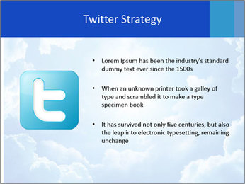 The divine sky PowerPoint Template - Slide 9