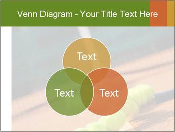 Tennis ball, vintage rackets PowerPoint Templates - Slide 33
