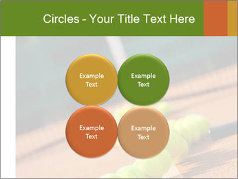 Tennis ball, vintage rackets PowerPoint Templates - Slide 38