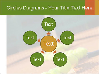 Tennis ball, vintage rackets PowerPoint Templates - Slide 78