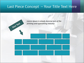 Silver christmas gift PowerPoint Template - Slide 46