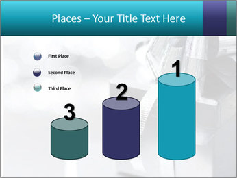 Silver christmas gift PowerPoint Templates - Slide 65