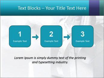 Silver christmas gift PowerPoint Template - Slide 71