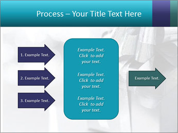 Silver christmas gift PowerPoint Template - Slide 85