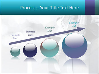 Silver christmas gift PowerPoint Template - Slide 87